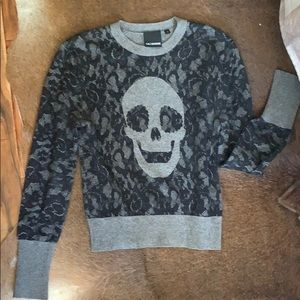 Ca$hmere Skull Sweater